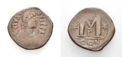Ancient Coins - JUSTINIAN I, Follis