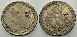 World Coins - SWITZERLAND, Bern, Counterstamp 40 Batzen