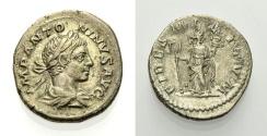Ancient Coins - ELAGABALUS, Denarius, FIDES MILITVM