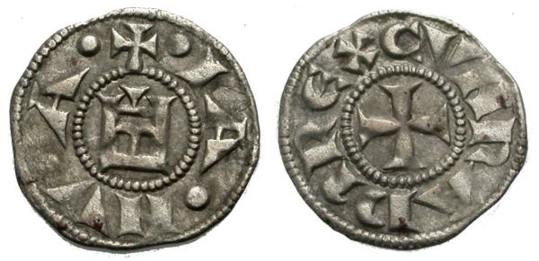 World Coins - GENOVA, DENARO