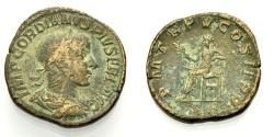 Ancient Coins - GORDIANUS III, HS: Apollo