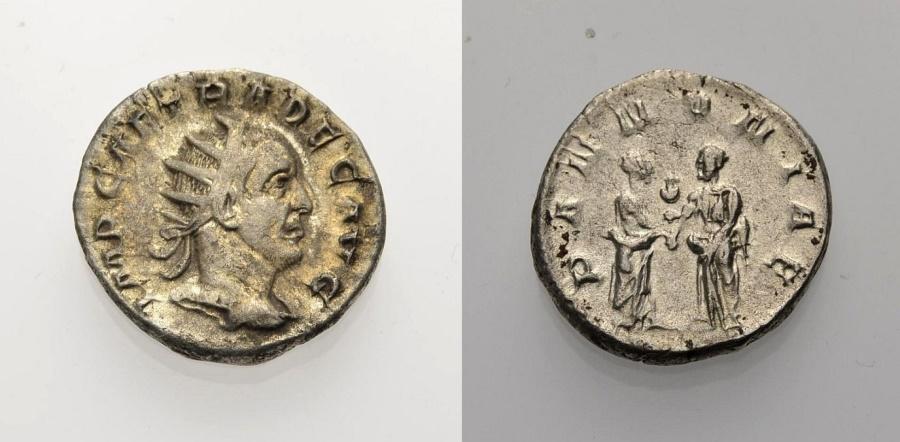 Ancient Coins - ROME, TRAJANUS DECIUS, Antoninian PANNONIAE