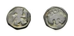 Ancient Coins - CELTIC: BELGIUM, REMI, Potin