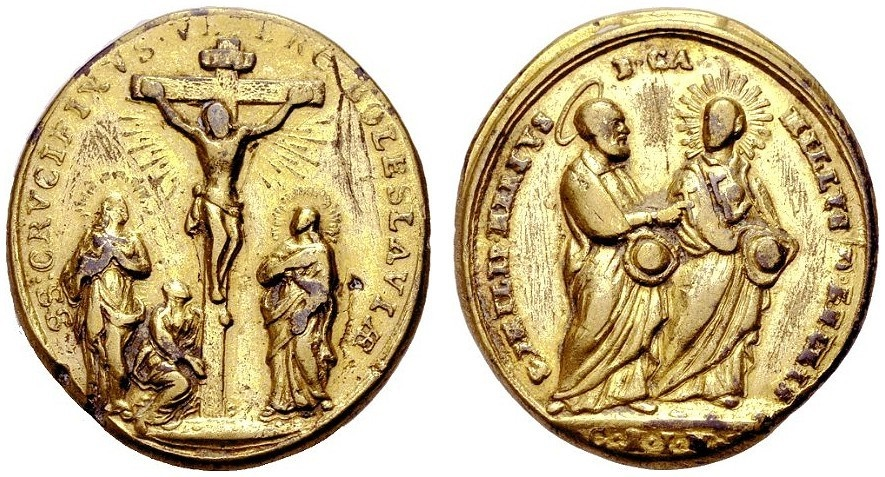 World Coins - BOHEMIA, Pilgrim Medal