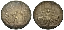 Us Coins - Silver Medal on H. Hudson and R. Fulton