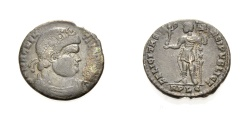 Ancient Coins - ROME, MAGNENTIUS, LUGDUNUM, Nummus