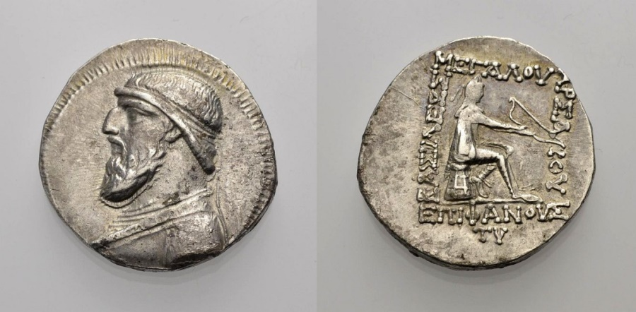 Ancient Coins - PARTHIAN KINGS: MITHRADATES II.