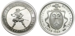 World Coins - SHOOTING MEDAL BASEL 1968