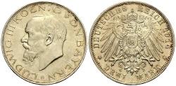 World Coins - BAYERN 3 Mark 1914