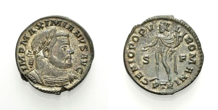 Ancient Coins - GALERIUS MAXIMIANUS (GALERIUS), Trier