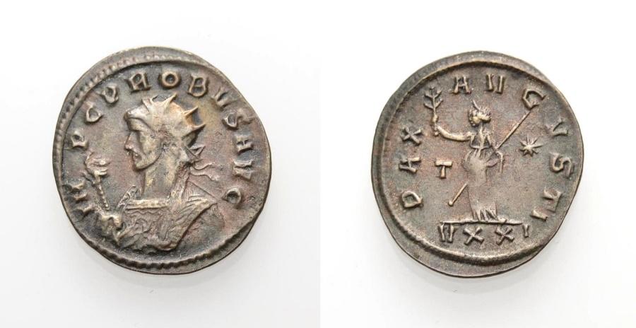 Ancient Coins - ROME, PROBUS, PAX AVGVSTI