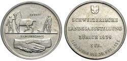 World Coins - SWITZERLAND 5 Fr. 1939 NATIONAL EXHIBITION
