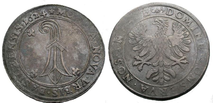 World Coins - BASEL Taler 1624