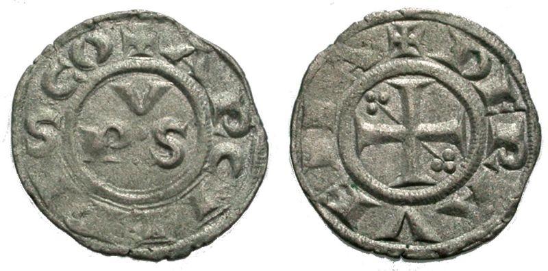 World Coins - RAVENNA, DENARO
