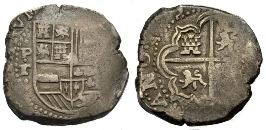 World Coins - COB 8 Reales, Potosi