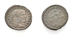 Ancient Coins - ROME, DIOCLETIANUS, Follis, SACRA MONETA, Rome