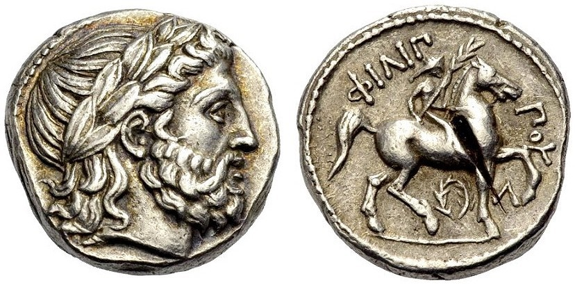Ancient Coins - MACEDON: PHILIP II