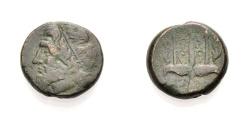 Ancient Coins - SICILY, SYRACUSE, HIERON II., Bronze