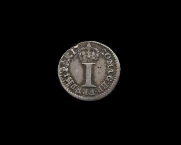 World Coins - Great Britain - George I - 1720 Maundy Penny HIPEX Error - NEF