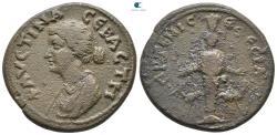 Ancient Coins - Ionia. Ephesos. Faustina II AD 147-175.  Bronze Æ