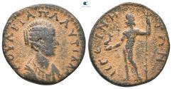Ancient Coins - Islands off Attica. Aegina. Plautilla (Augusta, AD 202-205).  Assarion Æ