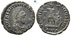 Ancient Coins - Valentinian II AD 375-392. Antioch Follis Æ.