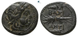 Ancient Coins - SELEUKID EMPIRE, Antiochos I Soter (281-261 BC). Ae. Antioch ad Orontes.