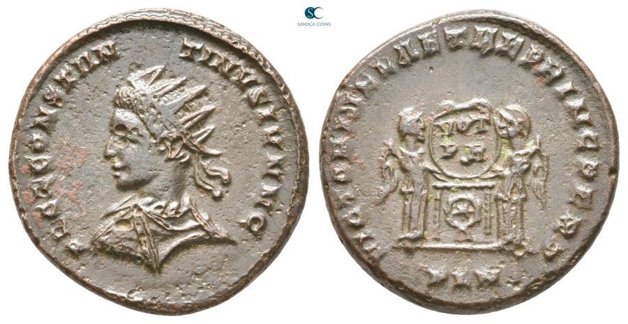 Ancient Coins - Constantine II, as Caesar AD 317-337. Londinium Follis Æ