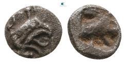 Ancient Coins - Ionia. Phokaia circa 600 BC.  Tetartemorion AR