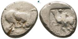 Ancient Coins - Cyprus. Marion. Sasmas circa 470-450 BC.  Stater AR