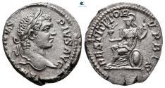 Ancient Coins - Caracalla AD 198-217. Rome Denarius AR