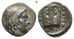 Ancient Coins - Ionia. Kolophon circa 389-350 BC.  Bronze Æ
