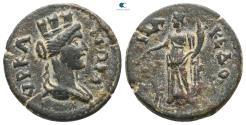 Ancient Coins - Lydia. Hyrkaneis. Pseudo-autonomous issue AD 198-276.  Bronze Æ