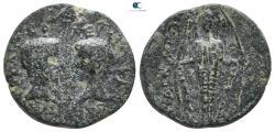 Ancient Coins - Ionia. Magnesia ad Maeander. Caius & Lucius, as Caesares 20 BC-AD 4.  Bronze Æ
