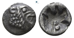 Ancient Coins - ASIA MINOR, Uncertain mint. Tetartemorion (450-400 BC).