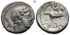 Ancient Coins - Pub. Crepusius 82 BC. Rome Denarius AR