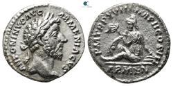 Ancient Coins - Marcus Aurelius AD 161-180. Rome Denarius AR