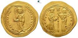 Ancient Coins - Theodora AD 1055-1056. Constantinople Histamenon Nomisma AV.
