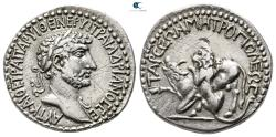 Ancient Coins - Cilicia. Tarsos. Hadrian AD 117-138. Tridrachm AR.