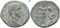 Ancient Coins - CILICIA, Seleukeia ad Kalykadnon. Philip I (244-249). Ae. GREAT MYTHOLOGICAL SCENE!!!