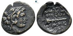 Ancient Coins - MACEDON, Thessalonika (ca. 150 BC). Ae.
