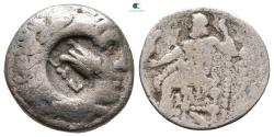 Ancient Coins - Kings of Macedon. Philip III Arrhidaeus 323-317 BC.  Drachm AR