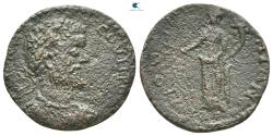 Ancient Coins - Messenia. Mothone. Septimius Severus (AD 193-211).  Assarion. Æ