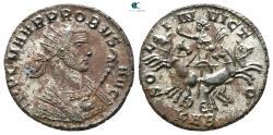 Ancient Coins - Probus AD 276-282. Serdica Antoninianus Æ silvered.