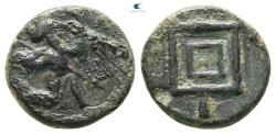 Ancient Coins - Ionia. Uncertain mint. Achaemenid Period. Uncertain Satrap circa 350-334 BC.  Bronze Æ
