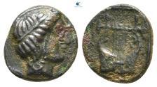 Ancient Coins - Ionia. Kolophon 389-350 BC. Bronze Æ