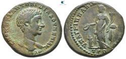 Ancient Coins - Moesia Inferior. Nikopolis ad Istrum. Diadumenian, as Caesar AD 217-218.  Bronze Æ