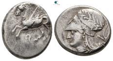 Ancient Coins - Corinthia. Corinth circa 345-307 BC. Stater AR.