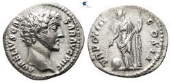 Ancient Coins - Marcus Aurelius AD 161-180. Rome Denarius AR.