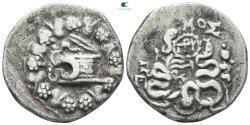 Ancient Coins - Mysia. Pergamon 166-67 BC. Struck circa 76-67 BC Cistophoric Tetradrachm AR